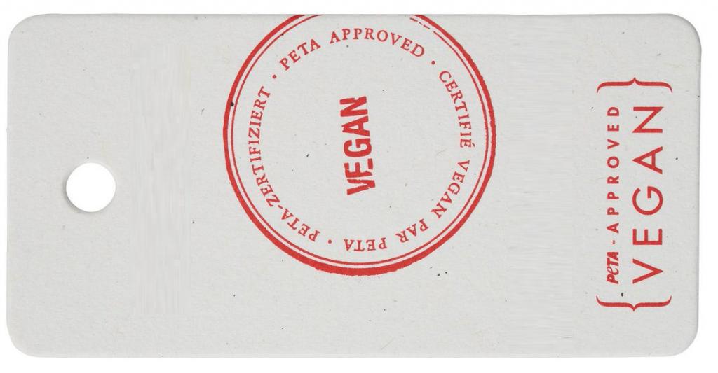 vegan friendly label for shoes
