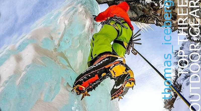 Top three outdoor gear by an expert alpinist from Autria