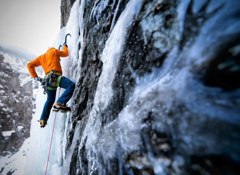 aaron mulkey coldfear rab ascendor pants climbing
