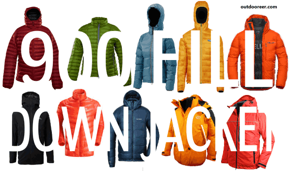 all 900 fill down jackets listed in the article