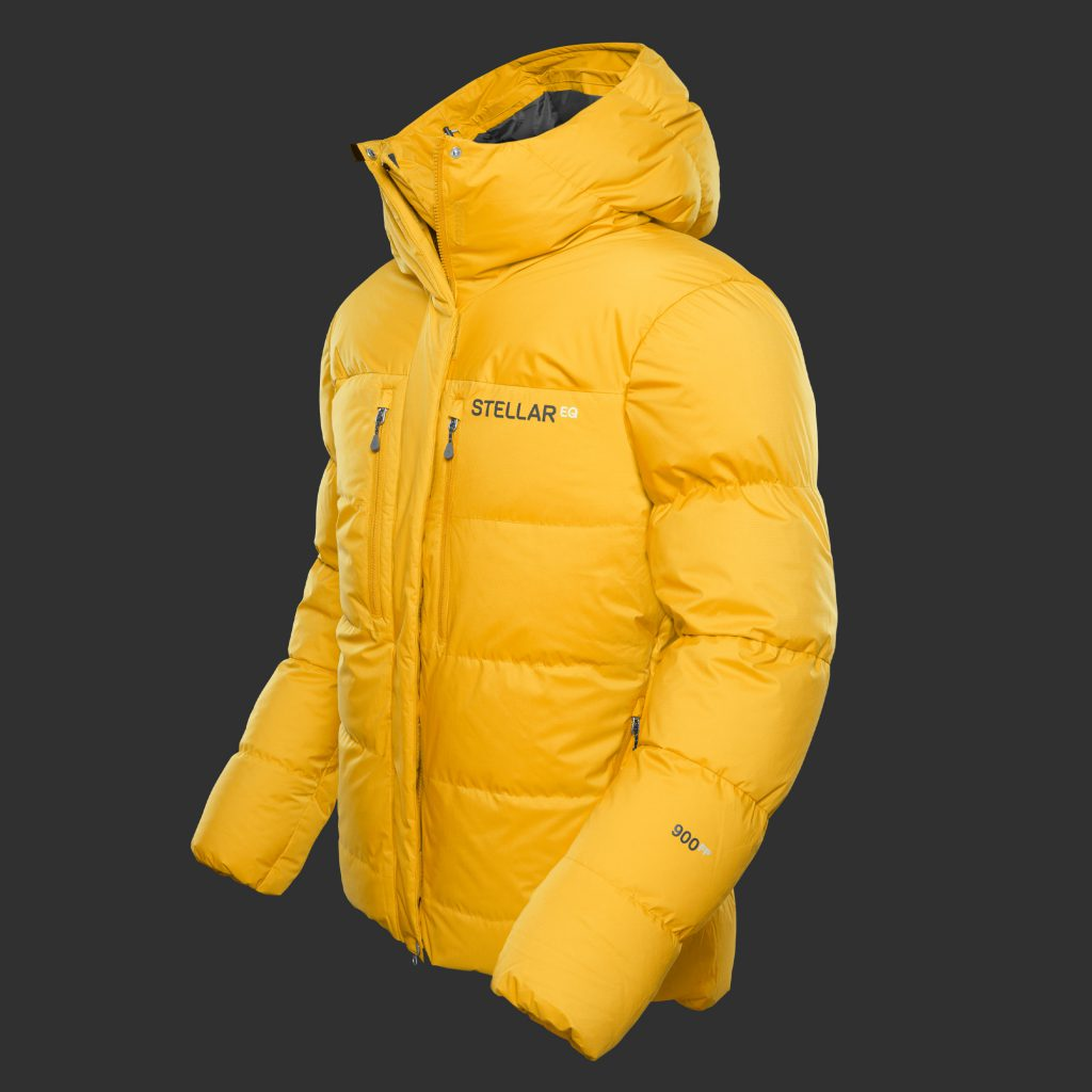 Stellar Equipment | Guide Expedition 900 fill Down Jacket - yellow color
