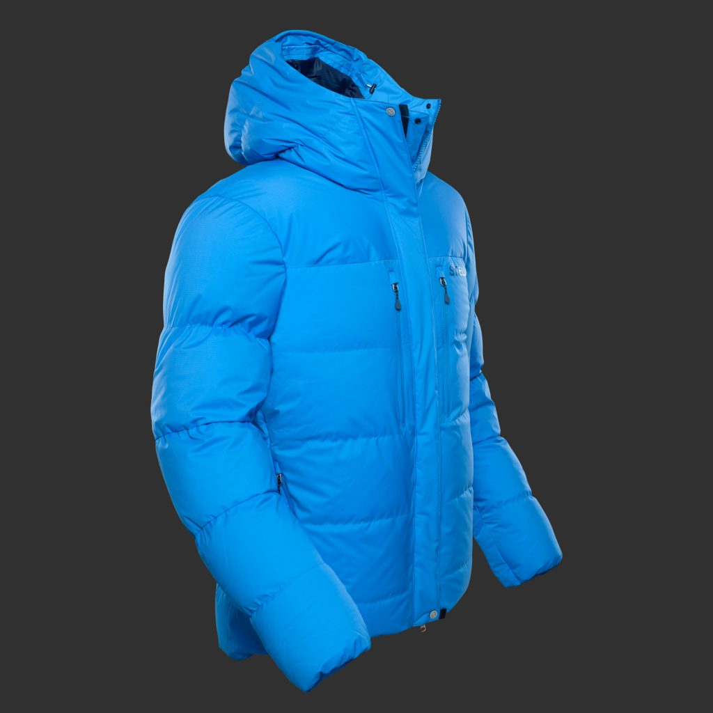Stellar Equipment | Guide Expedition 900 fill Down Jacket - blue color