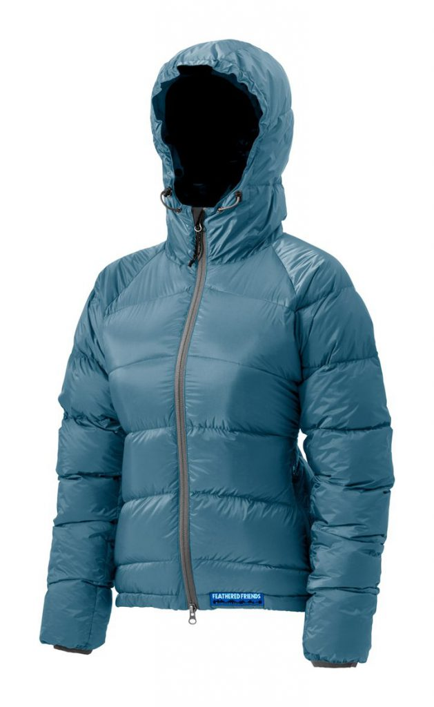Feathered Friends | Ellia women's  down jacket - blue color
