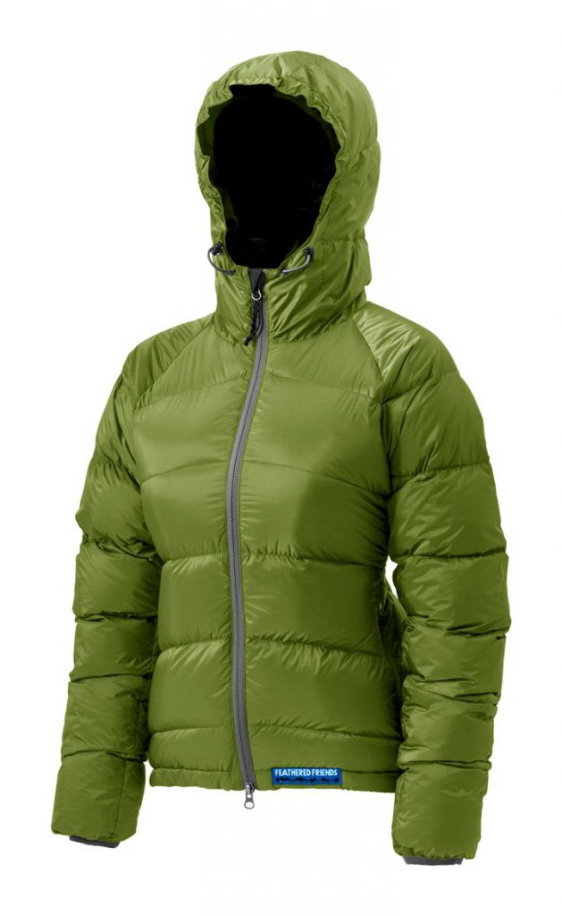 Feathered Friends | Ellia women's  down jacket - grass green color