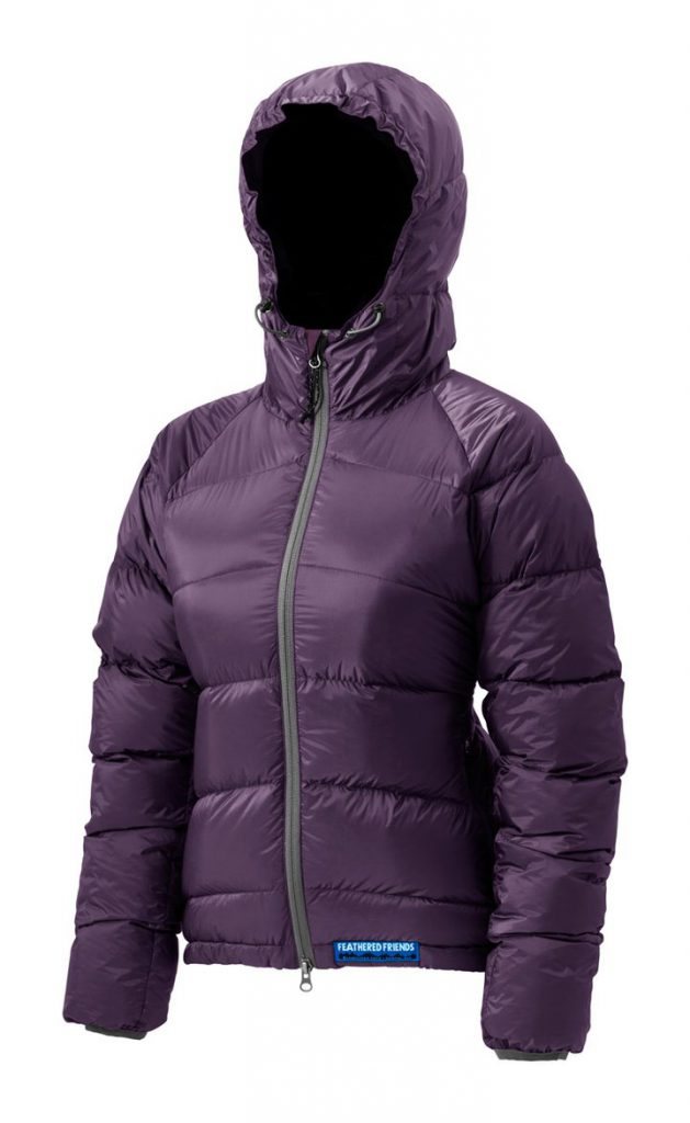 Feathered Friends | Ellia women's  down jacket - orchid color