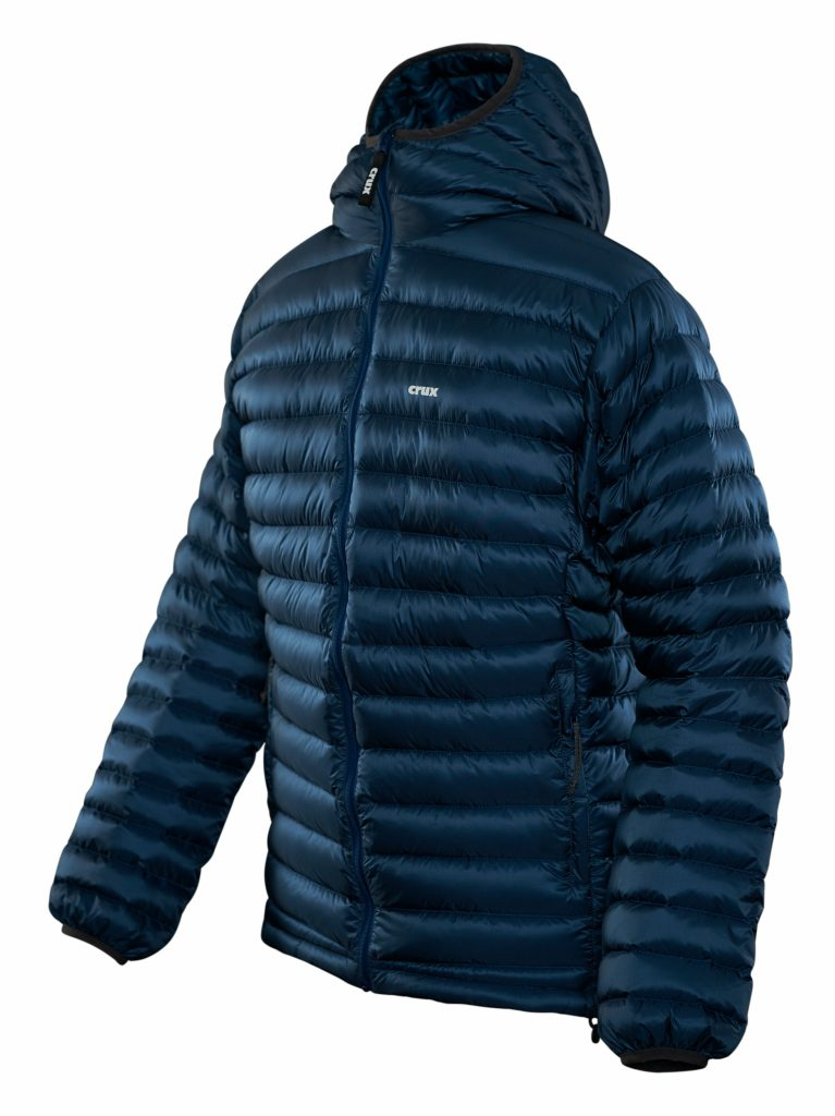 Crux | Halo 900 fill down jacket - blue color