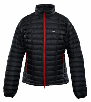 Crux Turbo 900 fill Jacket front black color