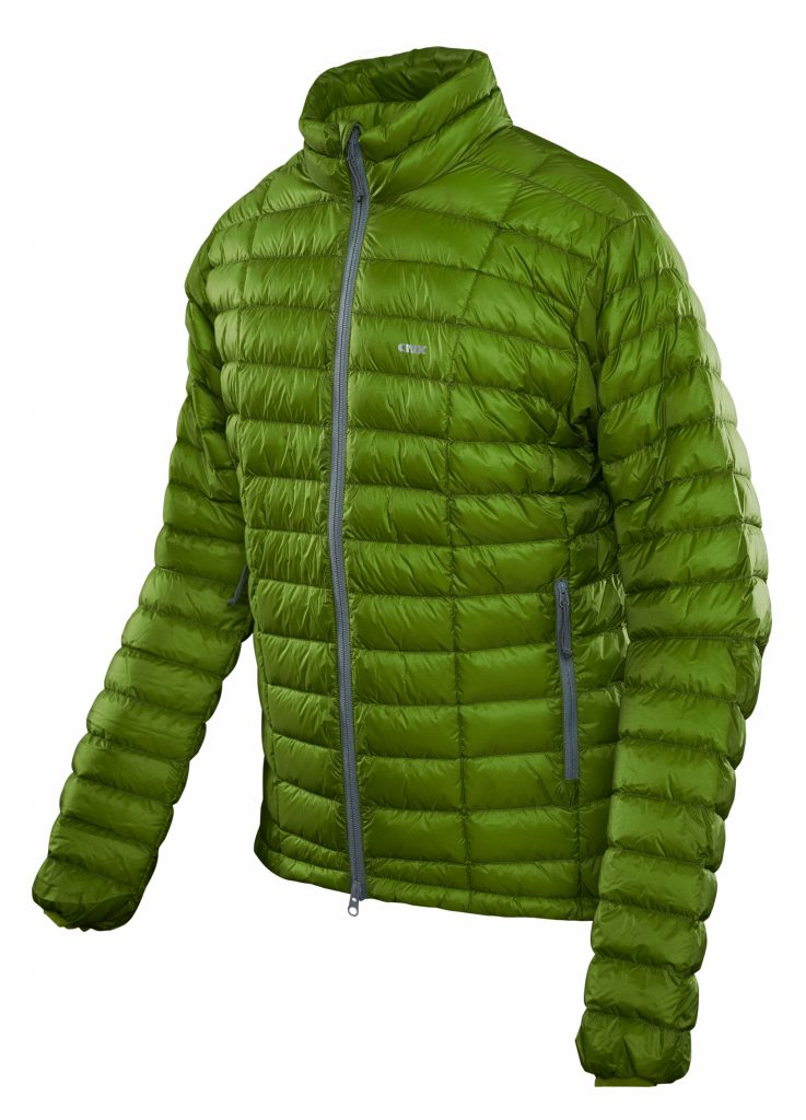 Crux Turbo 900 fill Jacket size green moss