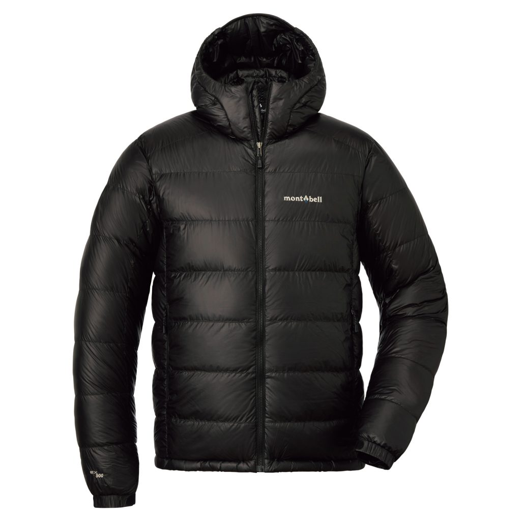 Montbell | Mirage Parka 900 fill down jacket - black color