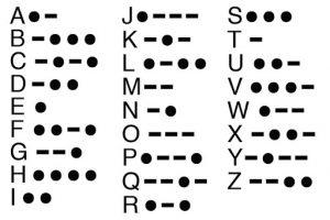 morse code for sos signal