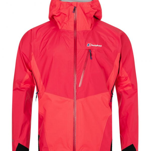 BERGHAUS - CHANGSTE WATERPROOF GORETEX JACKET - RED - FRONT