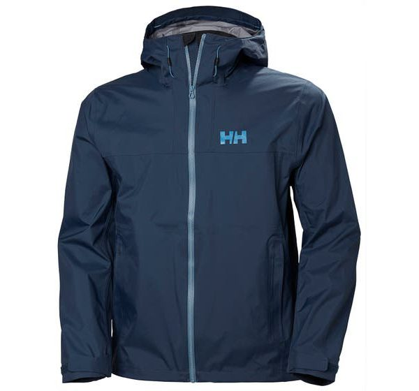 HELLY HANSEN - VANIR SLIDR JACKET - front - blue color - hiking