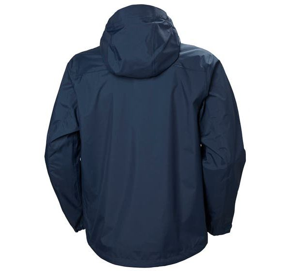HELLY HANSEN - VANIR SLIDR JACKET - back - blue color - hiking
