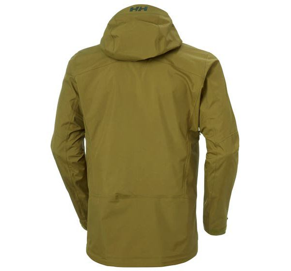 helly hansen - VERGLAS 3L SHELL JACKET - fir green