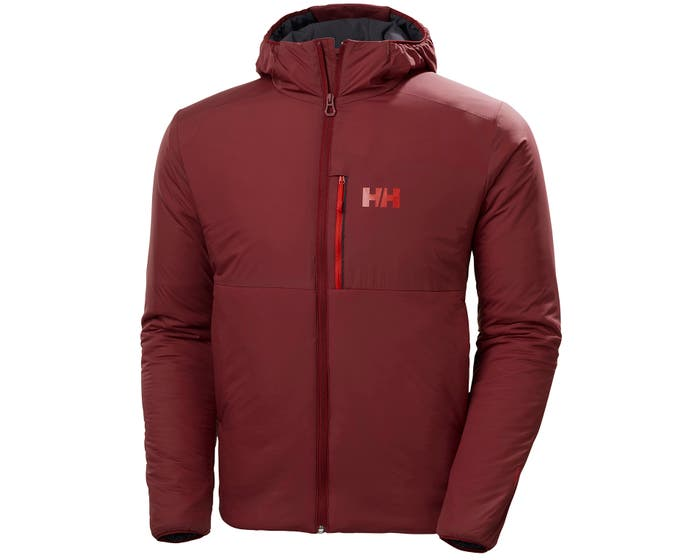 helly hansen - ODIN STRETCH HOODED INSULATOR - front - red
