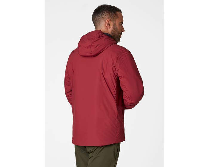 helly hansen - ODIN STRETCH HOODED INSULATOR - back - red