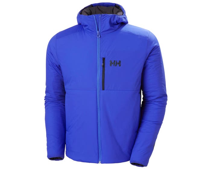 helly hansen - ODIN STRETCH HOODED INSULATOR - front - blue