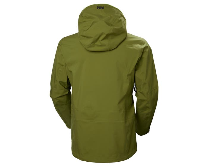 helly hansen - ODIN MOUNTAIN 3L SHELL JACKET - green back