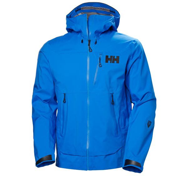 helly hansen - ODIN MOUNTAIN 3L SHELL JACKET - blue - front