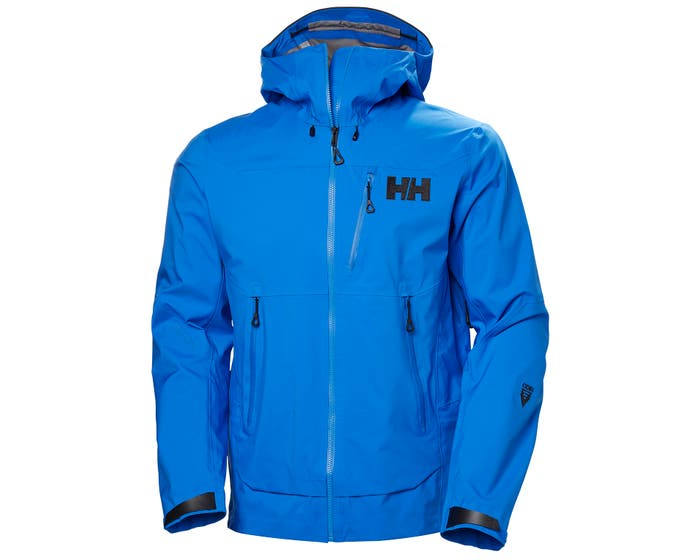 helly hansen - ODIN MOUNTAIN 3L SHELL JACKET - blue - front