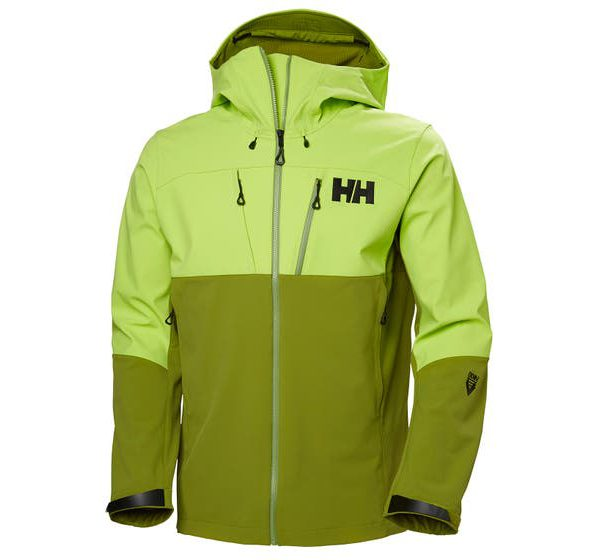 ODIN MOUNTAIN SOFTSHELL JACKET - wood green - front