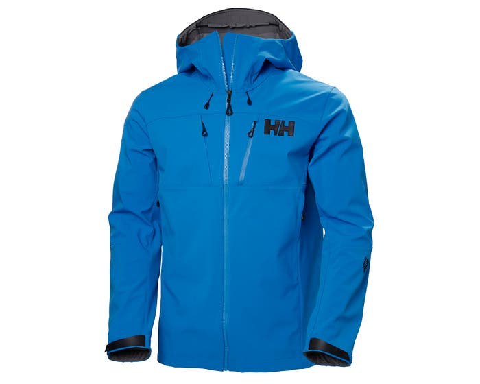 ODIN MOUNTAIN SOFTSHELL JACKET - electric blue - front