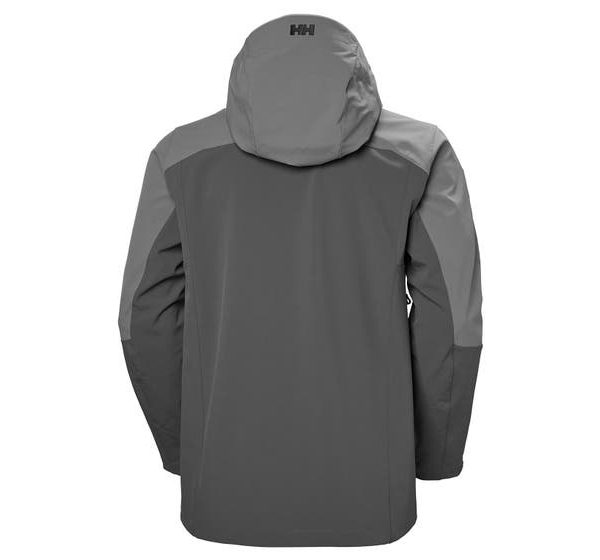 ODIN MOUNTAIN SOFTSHELL JACKET - dark black - front