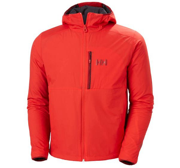 ODIN STRETCH HOODED LIGHT INSULATOR - alter red - front