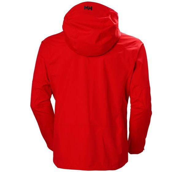 ODIN 9 WORLDS 2.0 JACKET back red