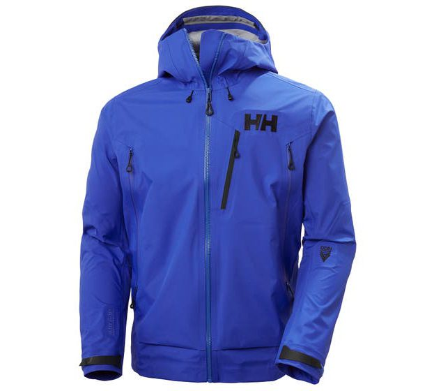 ODIN 9 WORLDS 2.0 JACKET front blue