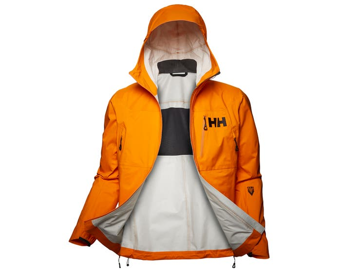 ODIN 3D AIR SHELL JACKET - front - organge
