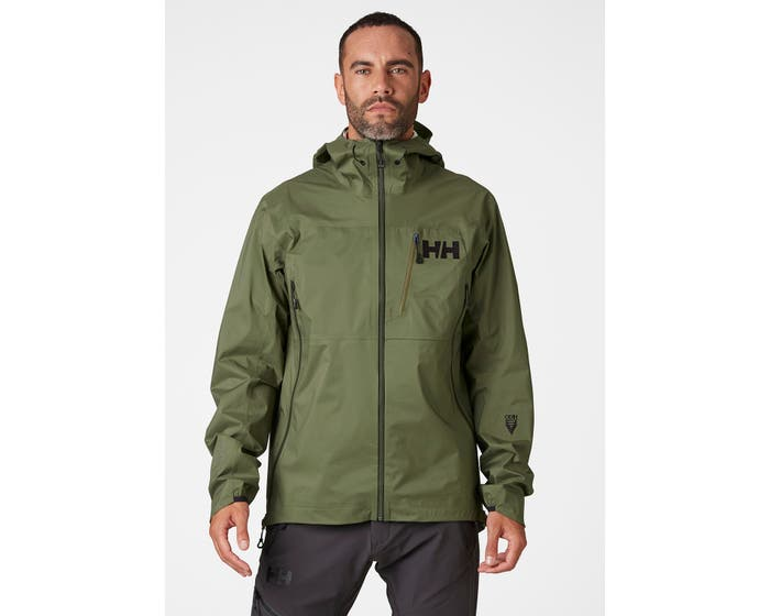 ODIN 3D AIR SHELL JACKET - green - front