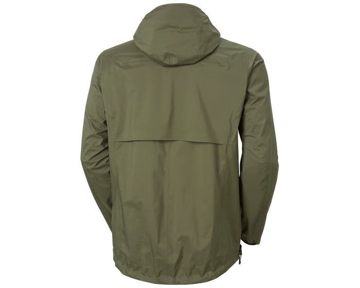 ODIN 3D AIR SHELL JACKET - back - green