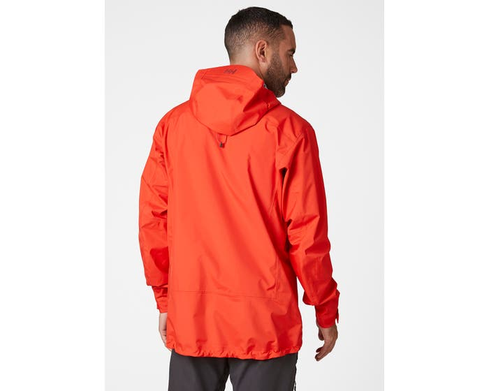 helly hansen - VIMER 3L SHELL JACKET - back red