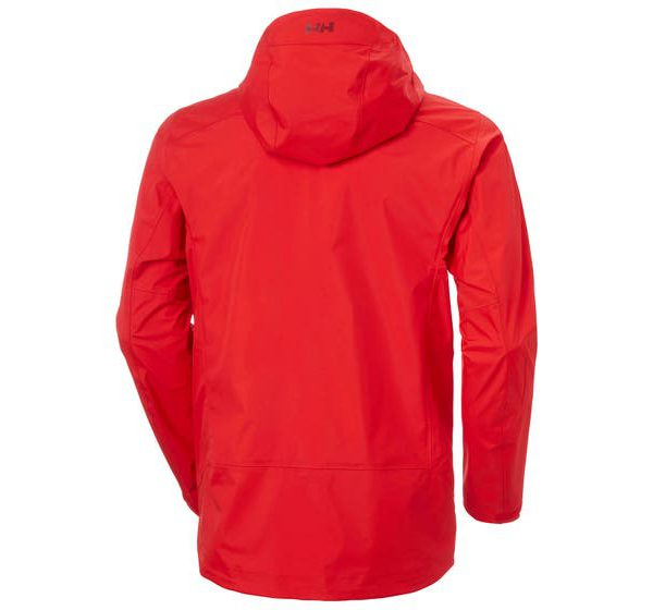 helly hansen - VIMER 3L SHELL JACKET - back 2 - red