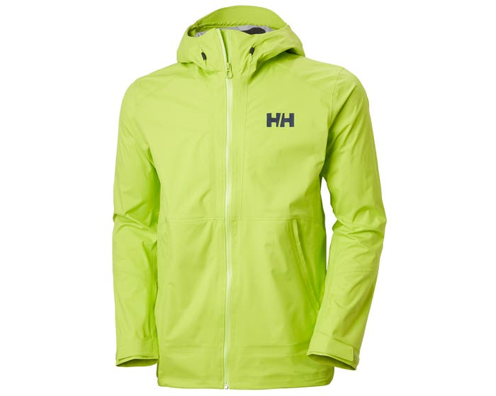 helly hansen - VIMER 3L SHELL JACKET - front yellow