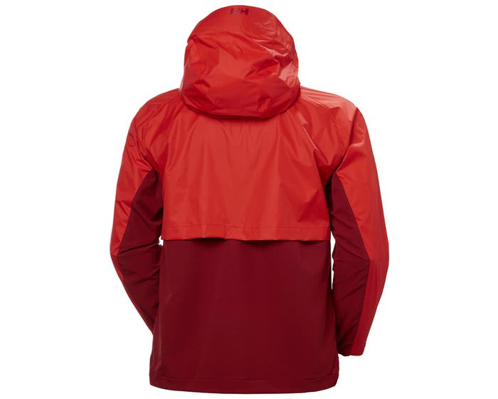 Helly Hansen - LOGR JACKET 2.0 - red - back
