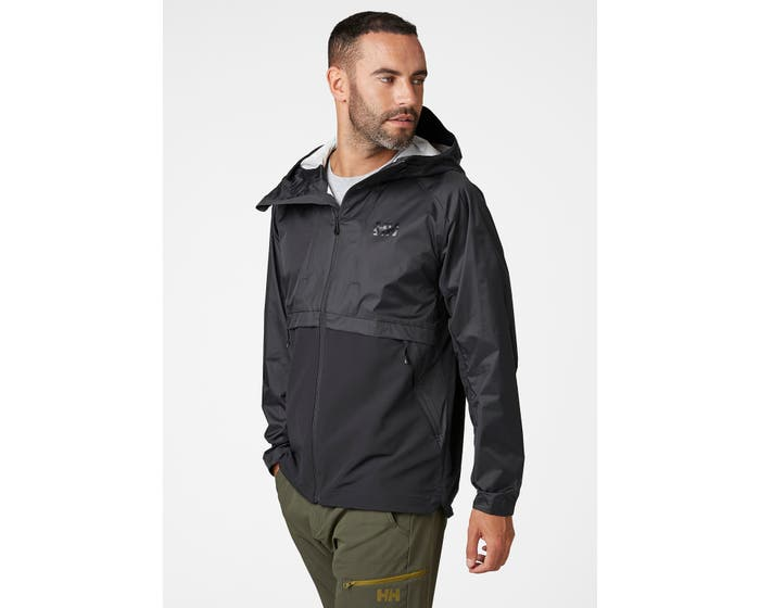 Helly Hansen - LOGR JACKET 2.0 - black front