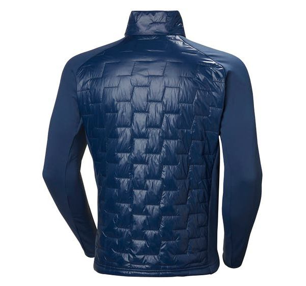 LIFALOFT HYBRID INSULATOR JACKET - back - navy