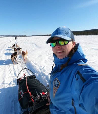 husky mushing and mushers dog sled tours - inuit sled - Swedish lapland - best sled dogs
