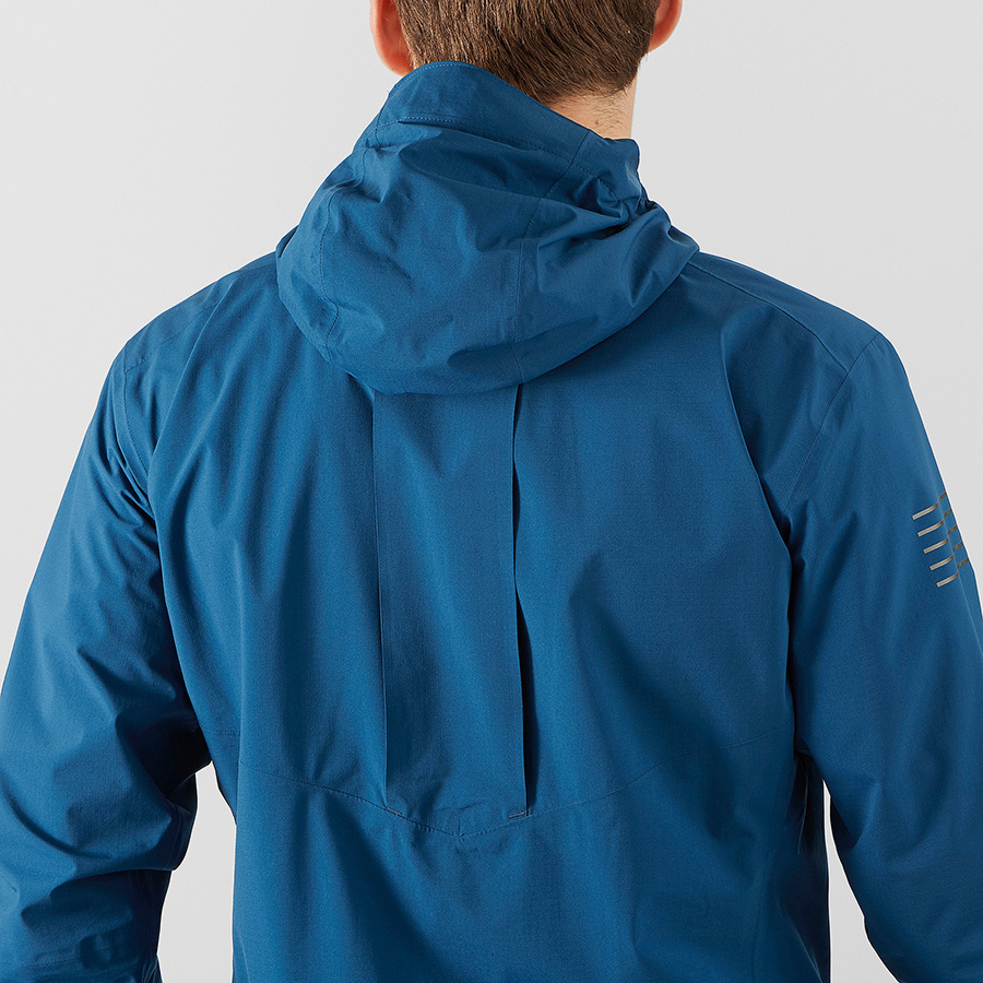 BONATTI PRO WP JKT - poseidon color - back
