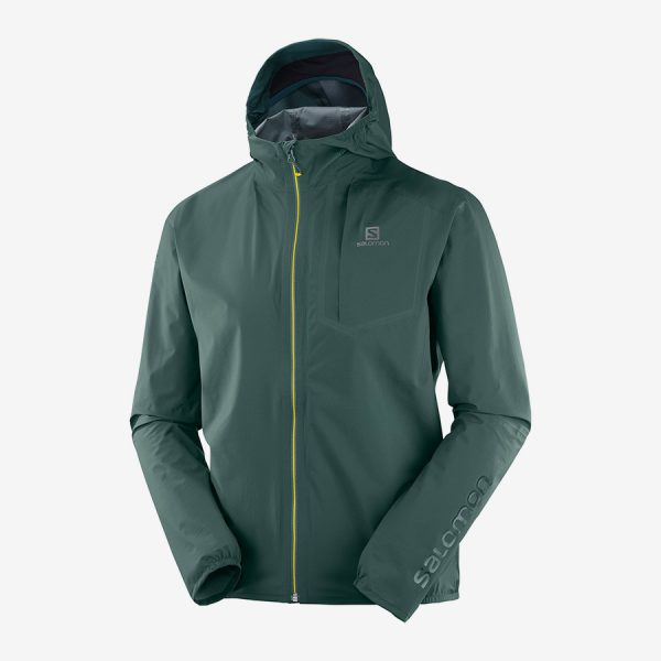 BONATTI PRO WP JKT - green gables color - front