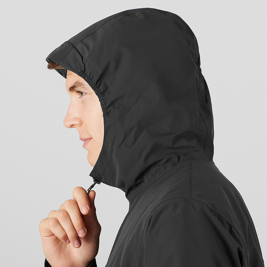 EXPLORE WP JKT - black - smart hood