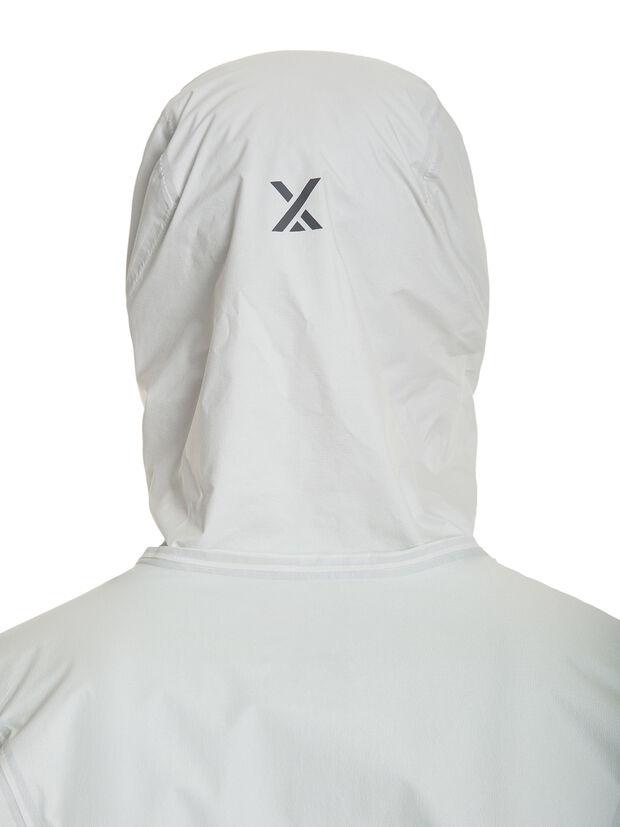 berghaus HYPER 100 JACKET hood back white