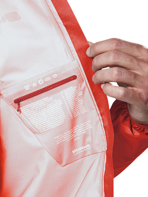 berghaus HYPER 100 JACKET security pocket