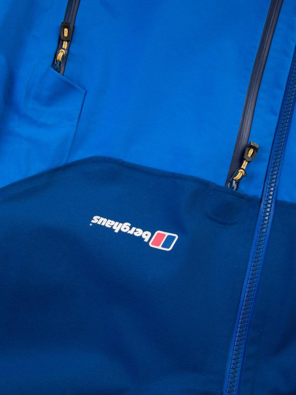berghaus EXTREM 5000 WATERPROOF JACKET zip details