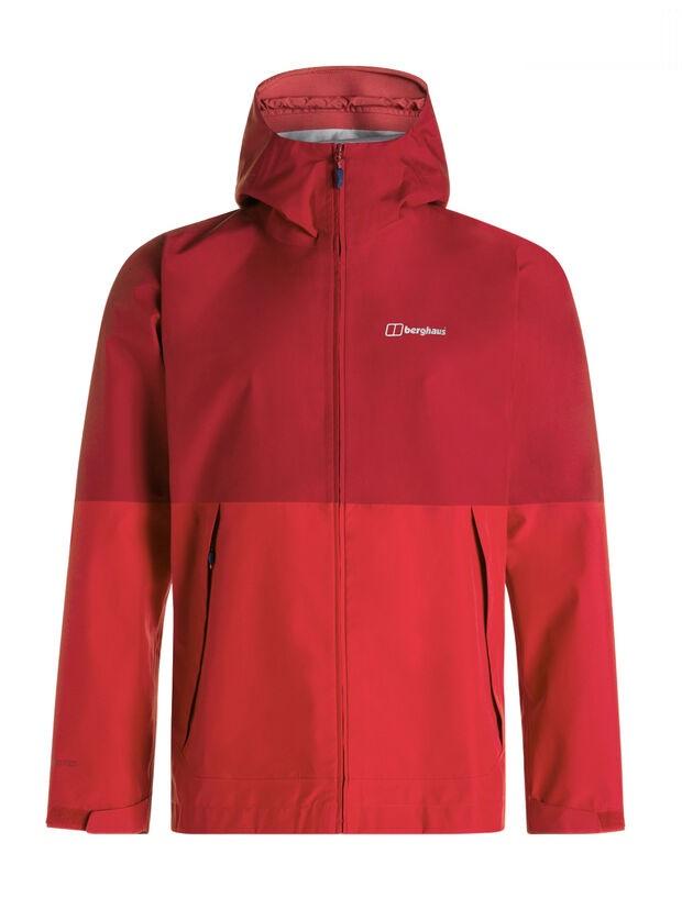 berghaus-ROSVIK-jacket red color