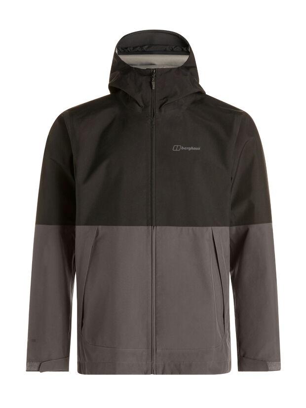 berghaus-ROSVIK-jacket grey black color