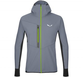 salewa AGNER DURASTRETCH DRY JACKET - front grey