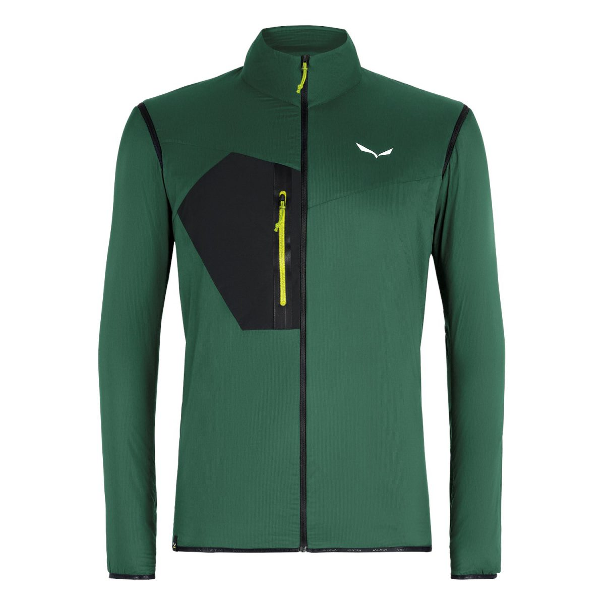 PEDROC HYBRID WIND POLARTEC ALPHA front green for speed hiking